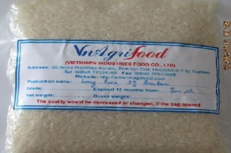 Vietnam white rice, jasmine rice