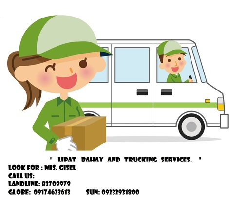 LIPAT BAHAY AND TRUCKING SERVICES