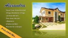 ALEXANDRA HOUSE AND LOT AT LANCASTER ESTATES