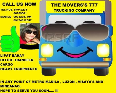 THE MOVERS 777 TRUCKING COMPANY