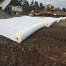 pp PET Nonwoven Geotextile Material for Mine Tailing Pond Project