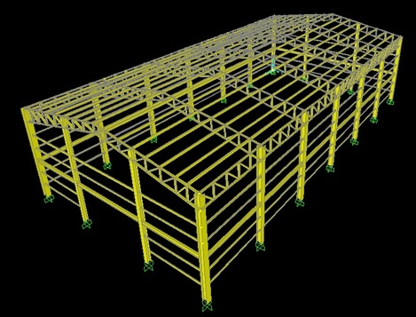 Structural Engineering Design for Warehouse and industrial Project