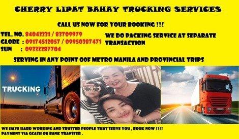 CHERRY LIPAT BAHAY TRUCKING SERVICES