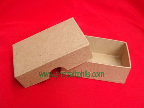 Papier Mache Biz Card Box