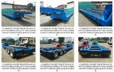Reconditioned Surplus Korean Low Bed Trailers for Sale