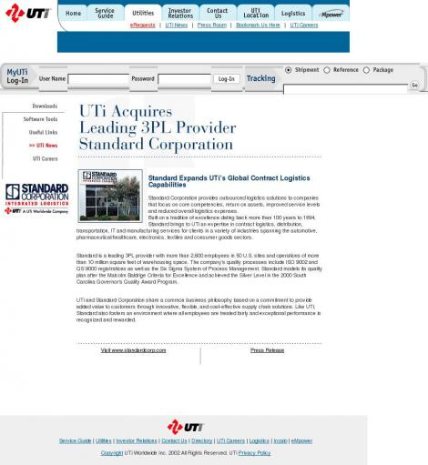 UTI (GLOBAL LOGISTICS) • Metro Manila • go2uti com