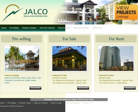 Jalco Goldland Corporation