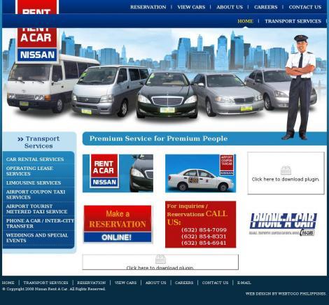 Nissan Rent A Car • Pasay • Metro Manila •
