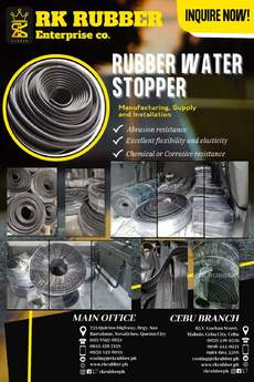 AFFORDABLE AND HIGH QUALITY RUBBER WATER STOPPER