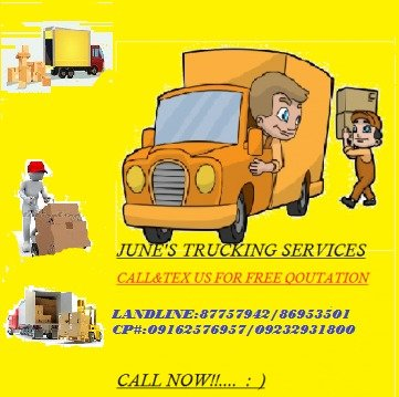 JUNE'S TRUCKING SERVICES