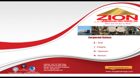 Zion Global Cargo Transport Corp.