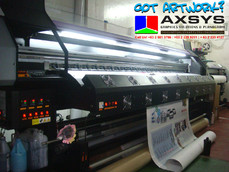 Tarpaulin, Banners, Poster, Large format stickers, Photopaper