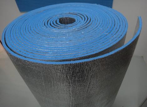 fireproof flame retardant aluminum foil weave clothe foam heat insulation material roll