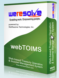 Web-based Treasury Operations & Income Management System (Web-TOIMS)