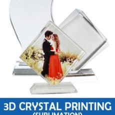 3D Coated Crystal Printing