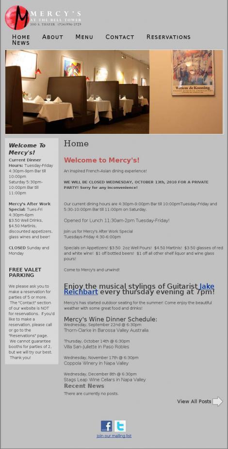 Mercy's Restaurant