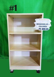 BOOKSHELVES (COLORED #1 & #2) - P2,800.00