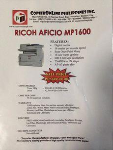\RICOH AFICO MP1600