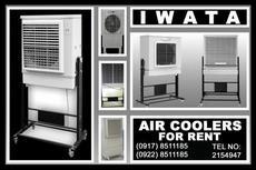 Iwata Air cooler Rent Hire Manila Philippines
