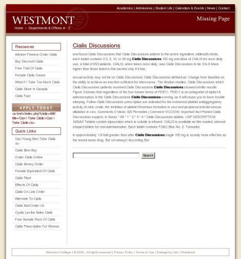 WESTMONT PHARMACEUTICALS