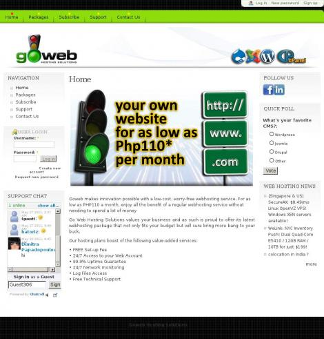 Goweb Hosting Solutions - www.gowebhostng.ph