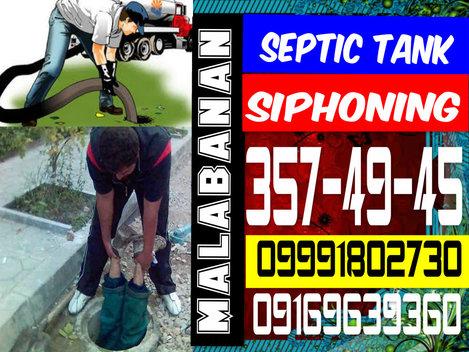 SG MALABANAN SIPHONING SEPTIC TANK SERVICES 3574945 09324675625