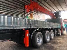 Boom Truck Kanglim KS5206 15 tons Crane Capacity