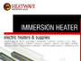 Immersion Heater and Water Heater