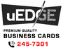 uEDGE Business Cards