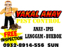 Yakal Anay Pest Control