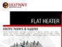 Flat Heaters