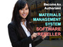 Become an Authorized Material Management System Software Reseller