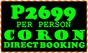 Coron Eco Lodge Package Pricelist