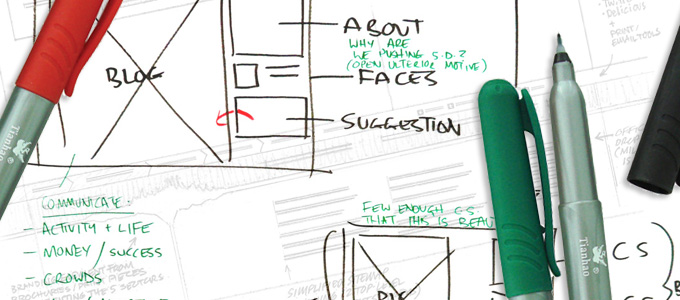 designing on the web.